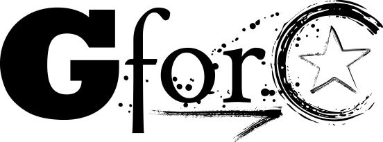 GFORC logo black